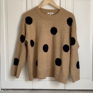 Madewell Dot Sweater